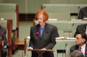 Julia's Maiden Speech to Parliament as Member for Lalor in 1998.